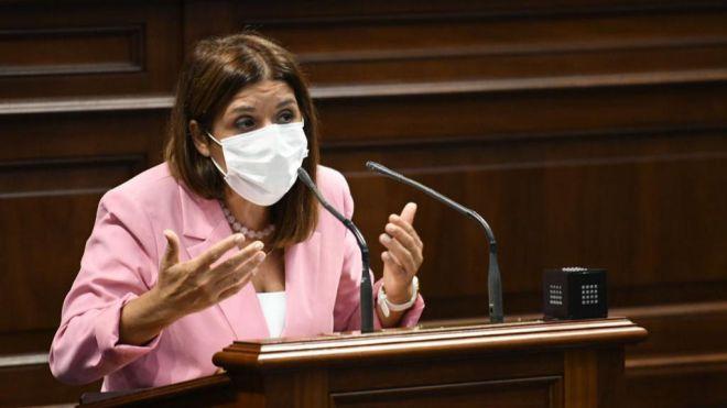 Carmen Hernández propone que se realicen las pruebas PCR antes del inicio de los partidos