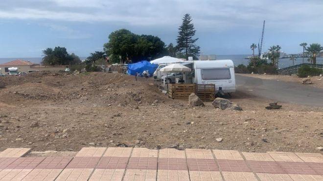 Arona evita un nuevo asentamiento ilegal en Los Cristianos
