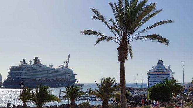 Canarias autoriza a los cruceros a operar entre los puertos de las islas a partir del 5 de noviembre