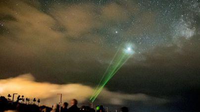 La Palma apaga la luz en 14 lugares emblemáticos de la isla para concienciar sobre la protección del cielo