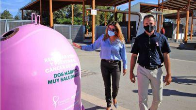 Lanzarote 'Recicla Vidrio por ellas' con motivo del Día Mundial del Cáncer de Mama