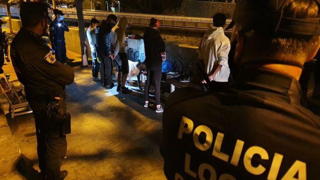 La Policía Local detecta un repunte en las infracciones por no usar la mascarilla
