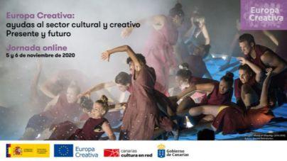 Reunión con más de un centenar de profesionales de la cultura en Canarias para hablar de ayudas europeas