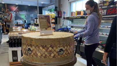 El queso curado más grande del mundo con más de 200 kg. ya está en Roper