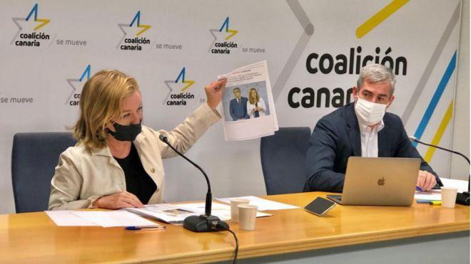Los nacionalistas canarios rechazan los PGE porque condenan a Canarias al paro, al hambre y a la pobreza