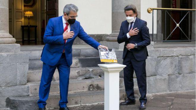 Rodríguez entrega al Parlamento un Presupuesto para 'la remontada'