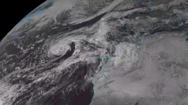 'Theta' provocará el sábado en La Palma y Tenerife rachas de viento de hasta 80 km/h