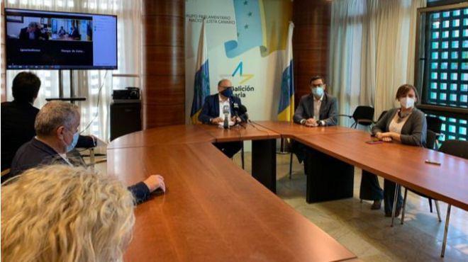 """Coalición Canaria reclama el """"cese inmediato"""" de Marlaska y Calvo"""