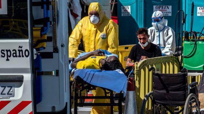 Médicos del Mundo denuncia la situación inhumana de los sistemas de acogida de los migrantes en Canarias