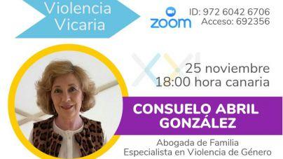 La Fundación Canaria Siglo XXI organiza una conferencia–coloquio sobre violencia vicaria