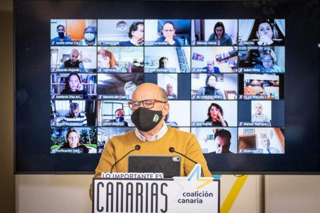 """Barragán: """"Coalición Canaria está más viva que nunca y sus mejores años están por venir"""""""