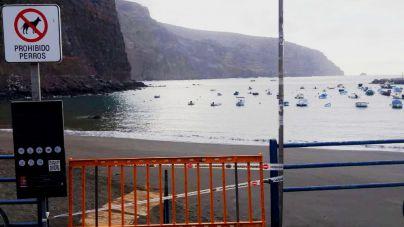 Valle Gran Rey trabaja para poder abrir la playa de Vueltas con todas las medidas de seguridad