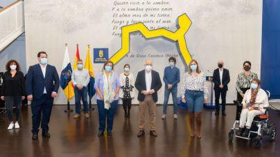 Plan de Accesibilidad de Gran Canaria a las personas con discapacidad, que suponen el 9 % de la población