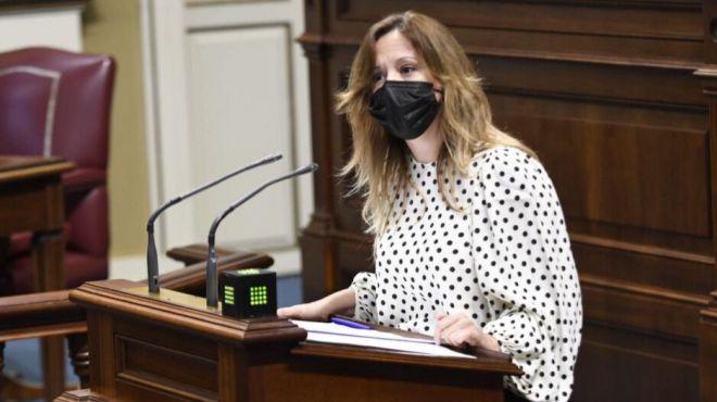 """Rosa Dávila: """"Los grupos del gobierno le han dado las espalda a Canarias informando favorablemente los Presupuestos del Estado"""""""