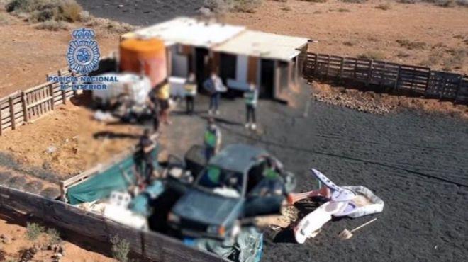 La Policía Nacional desarticula una organización dedicada al tráfico de inmigrantes irregulares entre Marruecos y Canarias