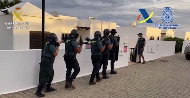 Desarticulada una organización delictiva tras la incautación del mayor alijo de cocaína efectuado en Lanzarote en los últimos años