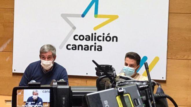 """Los nacionalistas instan a Torres a que convierta los 600 millones en un Plan de Rescate para """"todas las islas"""""""