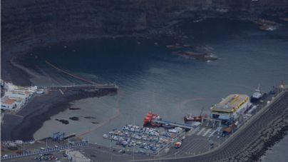 El gasoil vertido en Agaete se reduce a láminas de tres litros y los equipos trabajan para que la próxima semana hayan desaparecido del todo