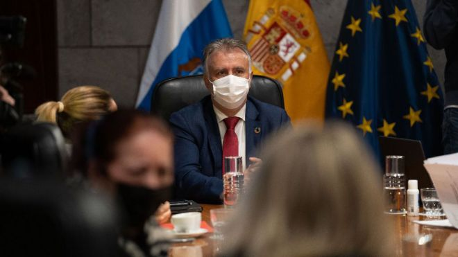 El Gobierno de Canarias eleva a nivel de alerta 3 a la isla de Lanzarote y a nivel 2 a la de Fuerteventura