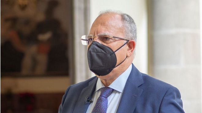 Curbelo apela a la sensibilidad del Estado para atender a las necesidades de los inmigrantes alojados en Canarias