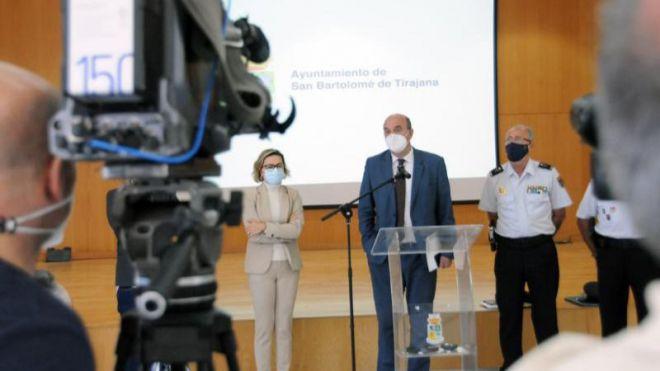 La Delegación del Gobierno en Canarias toma medidas en San Bartolomé de Tirajana