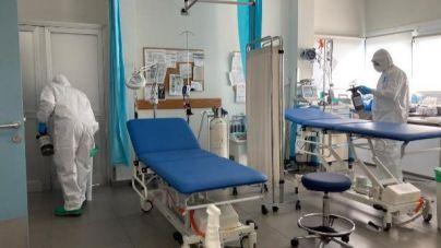 El Mando de Canarias realiza la desinfección de centros de salud en Lanzarote