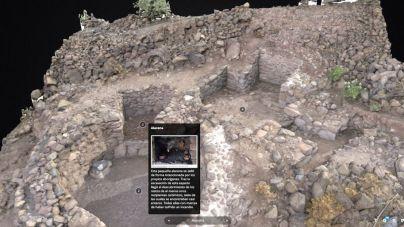 Una exposición virtual permite conocer el yacimiento de La Fortaleza de Santa Lucía