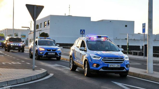 La Policía Local de Tías y la Policía Canaria formulan 28 denuncias por no llevar mascarilla
