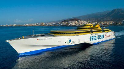 Fred. Olsen Express garantiza las conexiones entre La Palma y Tenerife