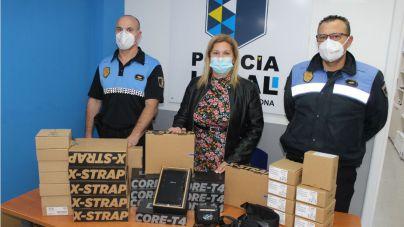 El Ayuntamiento dota de nuevos recursos materiales a la Policía Local para mejorar la seguridad y calidad del servicio