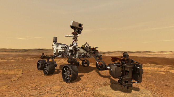 El 'Perseverance' se posará en un área de Marte bautizada con el nombre de Timanfaya