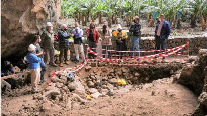 Finaliza la excavación en la Cueva de El Tendal para continuar estudiando la historia aborigen de La Palma