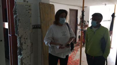 Cs denuncia el retraso en las obras de rehabilitación de los 45 bloques de viviendas de la Vega de San José