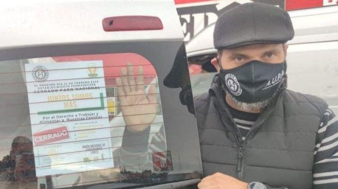 Los autónomos se sienten desamparados y hacen visible su dramática situación en el parón convocado el 24 de Febrero