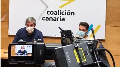 """CC acusa al Gobierno de """"sepultar"""" el presente de miles de empresas canarias"""
