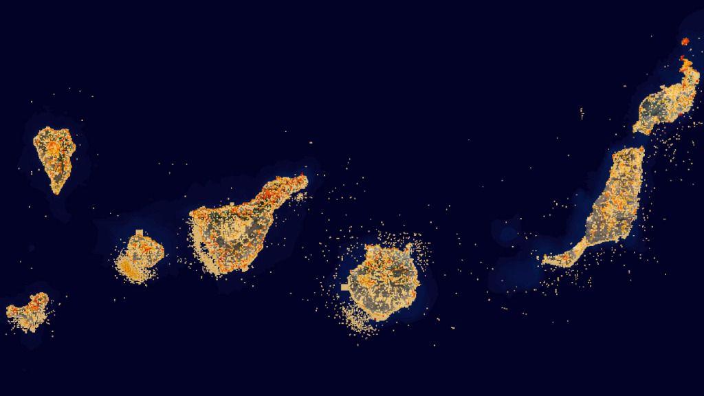 Transición Ecológica actualiza el mapa de Grafcan sobre especies protegidas de Canarias
