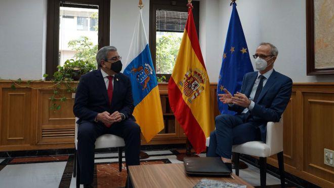 Noruega reitera su interés por la inversión en energía eólica en Canarias