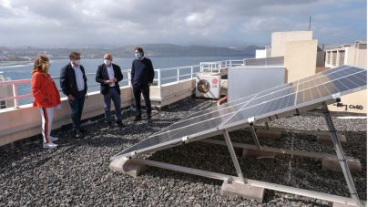 El Cabildo lanza 400.000 euros de ayudas para placas solares en viviendas y empresas