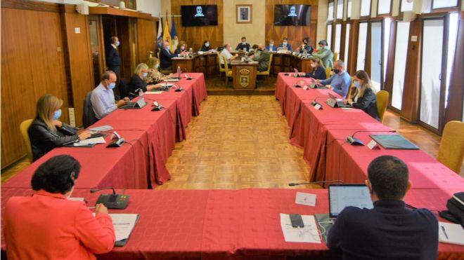 La Palma al completo pide al Gobierno de Canarias que recupere la totalidad de los fondos del Fdcan
