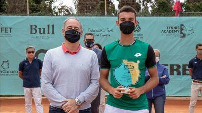Carlos Gimeno Valero se corona campeón del Gran Canaria Challenger 2