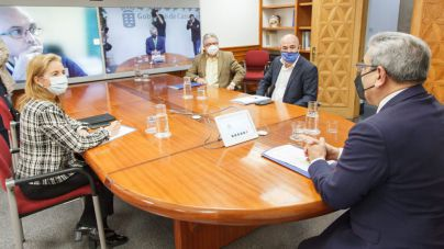 Rodríguez intensifica el diálogo con las patronales turísticas para rentabilizar las ayudas dirigidas al sector desde Canarias y el Estado