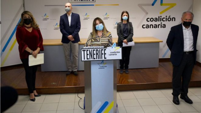 CC-PNC denuncian la incapacidad de gestión del Gobierno que ralentiza el desarrollo económico de Tenerife