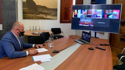 Lloret participa telemáticamente en la comisión de Estudio sobre la insularidad en el Senado