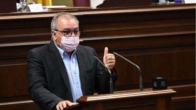 """Luis Campos afirma que la labor de NC en el Gobierno y para afrontar la crisis de la pandemia es """"estratégica"""""""