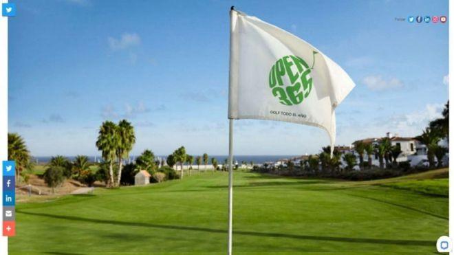 Turismo de Canarias participa en la feria de golf más importante del mundo que este año es en formato virtual