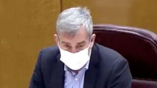 Clavijo logra el respaldo en el Senado a un plan de rescate al sector turístico con el rechazo del PSOE