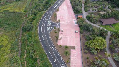 El Cabildo abre el aparcamiento del Jardín Botánico Canario y amplía la apertura a los fines de semana