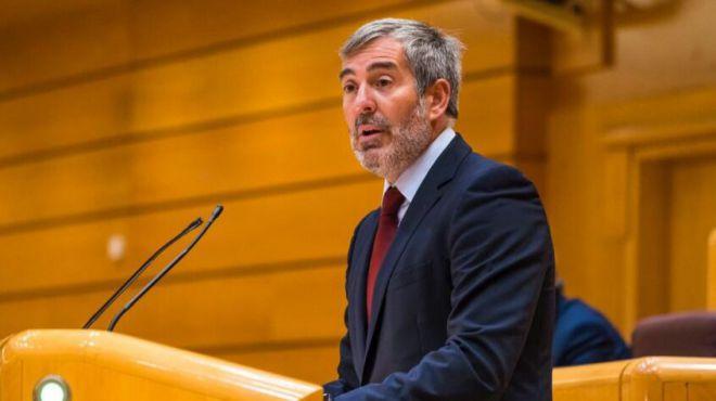 Clavijo reclama el fin del 'Plan Sánchez' de campamentos hacinados de migrantes para evitar más altercados