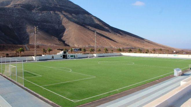 Yaiza abre el Campo de Fútbol a la afición con aforo de 124 personas