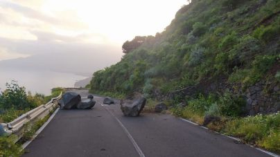 La Frontera solicita al Gobierno de Canarias un estudio geomorfológico de la ladera de la carretera de Sabinosa